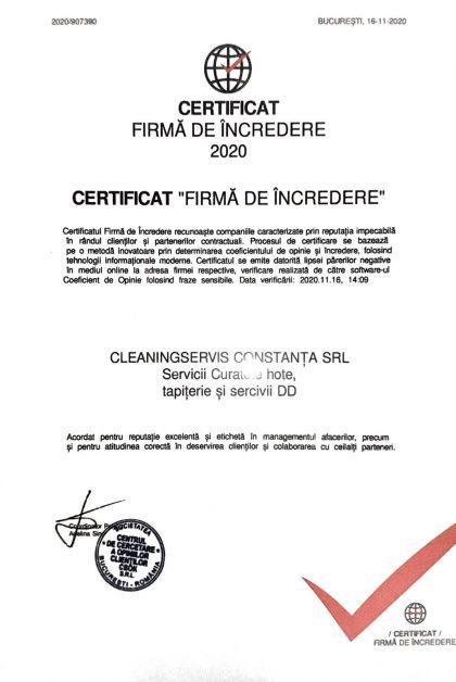 Cleaning Service Constanta - Firma de incredere